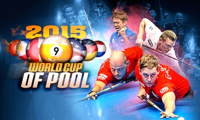 """Line Up for September's """"World Cup of Pool"""""""