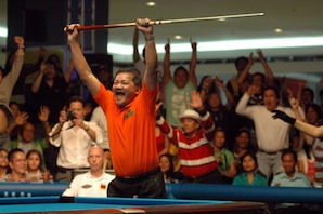 Efren Reyes Named Captain of Asia in Kings Cup