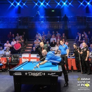 2 England Teams Advance to Today's Semi-Final in Dafabet World Cup of Pool