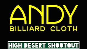Andy Cloth High Desert Shootout – Sept. 25-27