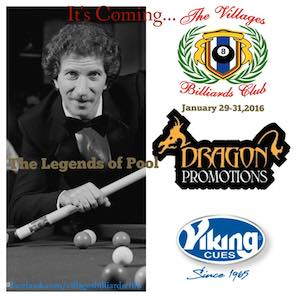 Play with the Legends of Pool January 28-31