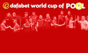 Live TV in 40 Countries for World Cup of Pool – Starts Sept. 22