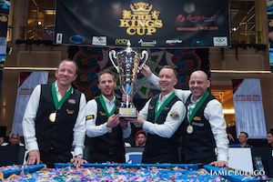 West Wins pool's Kings Cup in Thriller Finale!