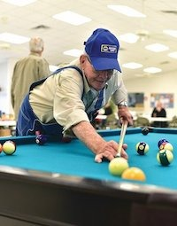 80-year-old Plays Pool Every Day