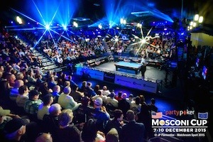 Europe Takes 9-6 Lead in pool's PartyPoker Mosconi Cup