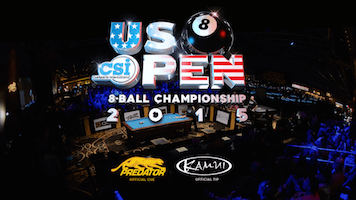 CSI Releases 2015 US Open 8-Ball Championship Matches on YouTube
