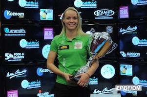 Jasmin Ouschan Wins Women's Italian Billiard Open