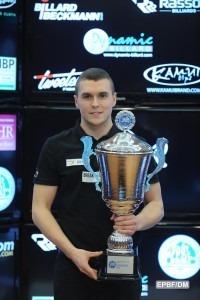 Fortunski Wins Pool Title at Dynamic Billard Italian Open