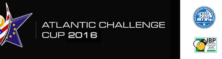 Europe Announces Pool's 2016 Atlantic Challenge Cup Team