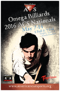 Results – Omega Billiards ACS National Championships