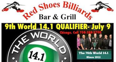 Pool's World Tournament of 14.1 Qualifier – July 9, Chicago