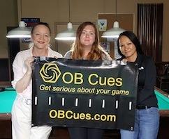 Jennifer Kraber Scores Win at Pool's OB Cues Ladies Tour