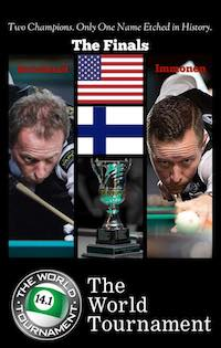 USA vs Finland: Strickland vs Immonen for World 14.1 Title, PPV 1 p.m. Today