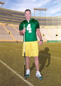Brett Favre's Commemorative J. Pechauer Pool Cues