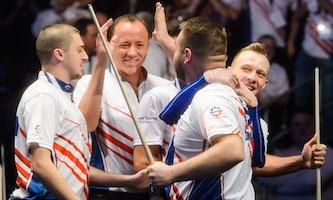 American Five set for London showdown