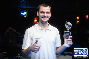 Chinakov Wins Molinari Title at World Series of Pool