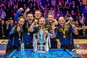 Euro Mosconi Team Qualification Events