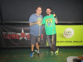Guimond & Espinosa Win on Pool's Poison Lone Star Tour