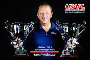 Van Boening Endorses USA Pool League