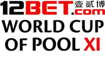 12BET Announced as World Cup of Pool Title Sponsor