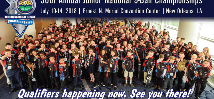 30th Annual BEF Junior Nationals, New Orleans July 10-14