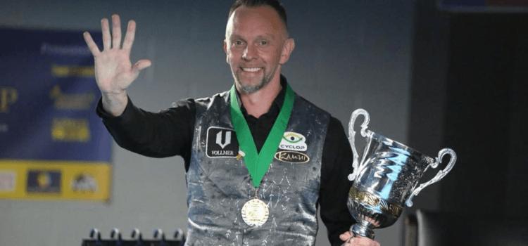 Hohmann Wins His 5th World Straight Pool Championship