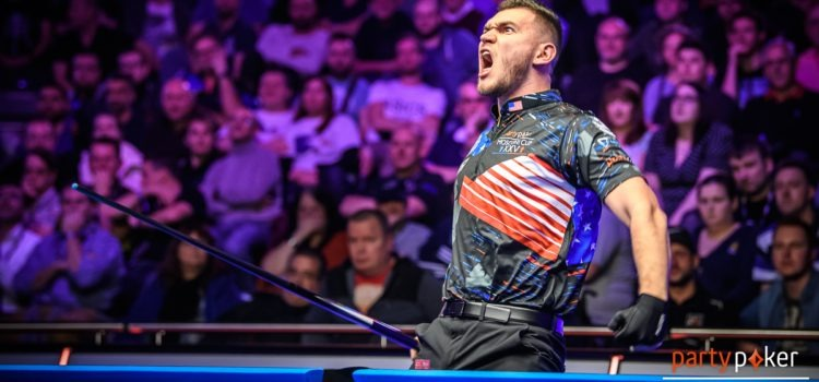 Mosconi Cup Update – Europe 4 – 6 USA