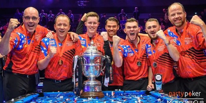 USA partypoker Mosconi Cup Champions