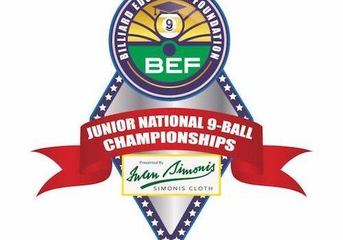 Iwan Simonis Named Presenting Sponsor Of BEF Junior National 9-Ball Championships –