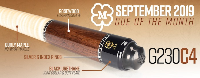 McDermott's September Cue Giveaway