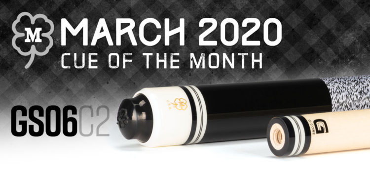 McDermott Cue of the Month Giveaway for March 2020