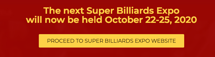 Super Billiards Expo Oct. 22-25