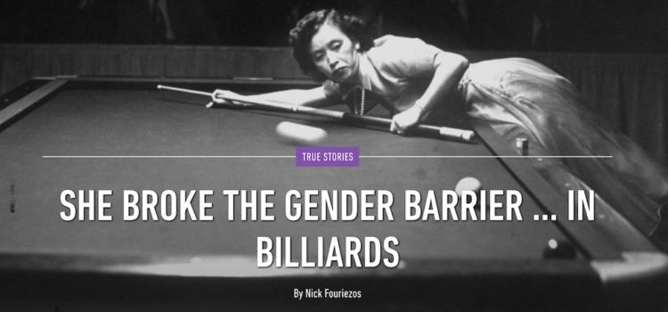 Masako Katsura Broke Billiards Gender Barrier in 1950s