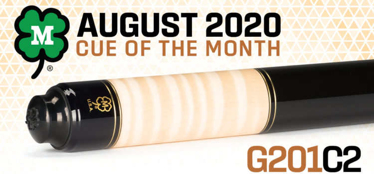 McDermott Cue of the Month Giveaway for August 2020