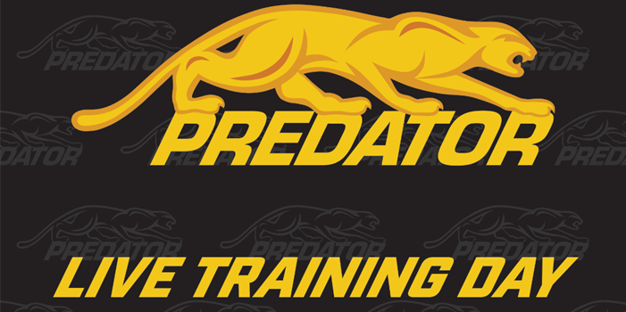 Predator Live Stream Training Day – Sunday, Nov. 29