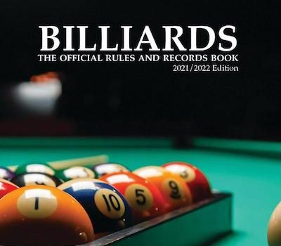 Billiard Congress of America Releases 2021/2022 Edition World-Standardized Rule Book