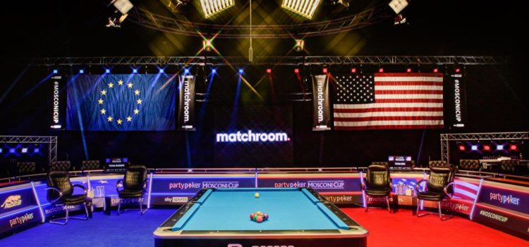 Europe Leads on Day One at Partypoker Mosconi Cup