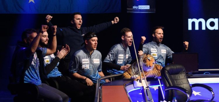 Partypoker Mosconi Cup Day 2 – Europe Shutout USA