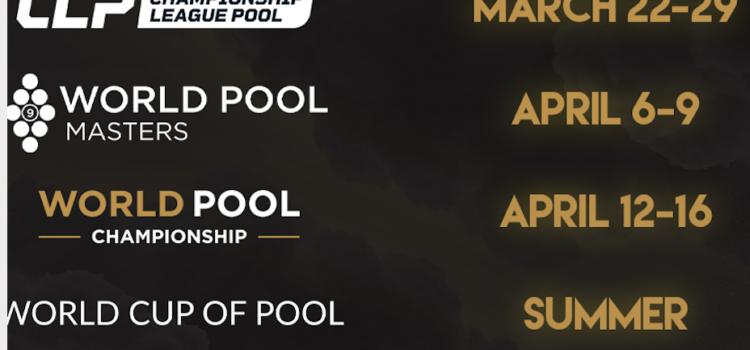 MATCHROOM POOL SET FOR BLOCKBUSTER SPRING SCHEDULE