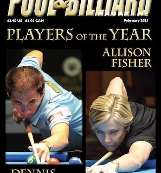 Allison Fisher & Dennis Orcollo, P&B's Players of the Year !