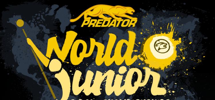 Predator World Junior 9-Ball, Sept. 9-11