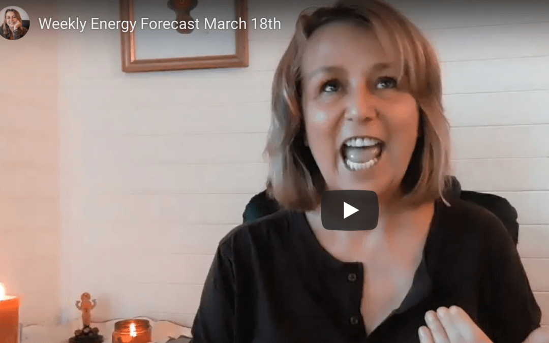 Weekly Energy Forecast March 18th