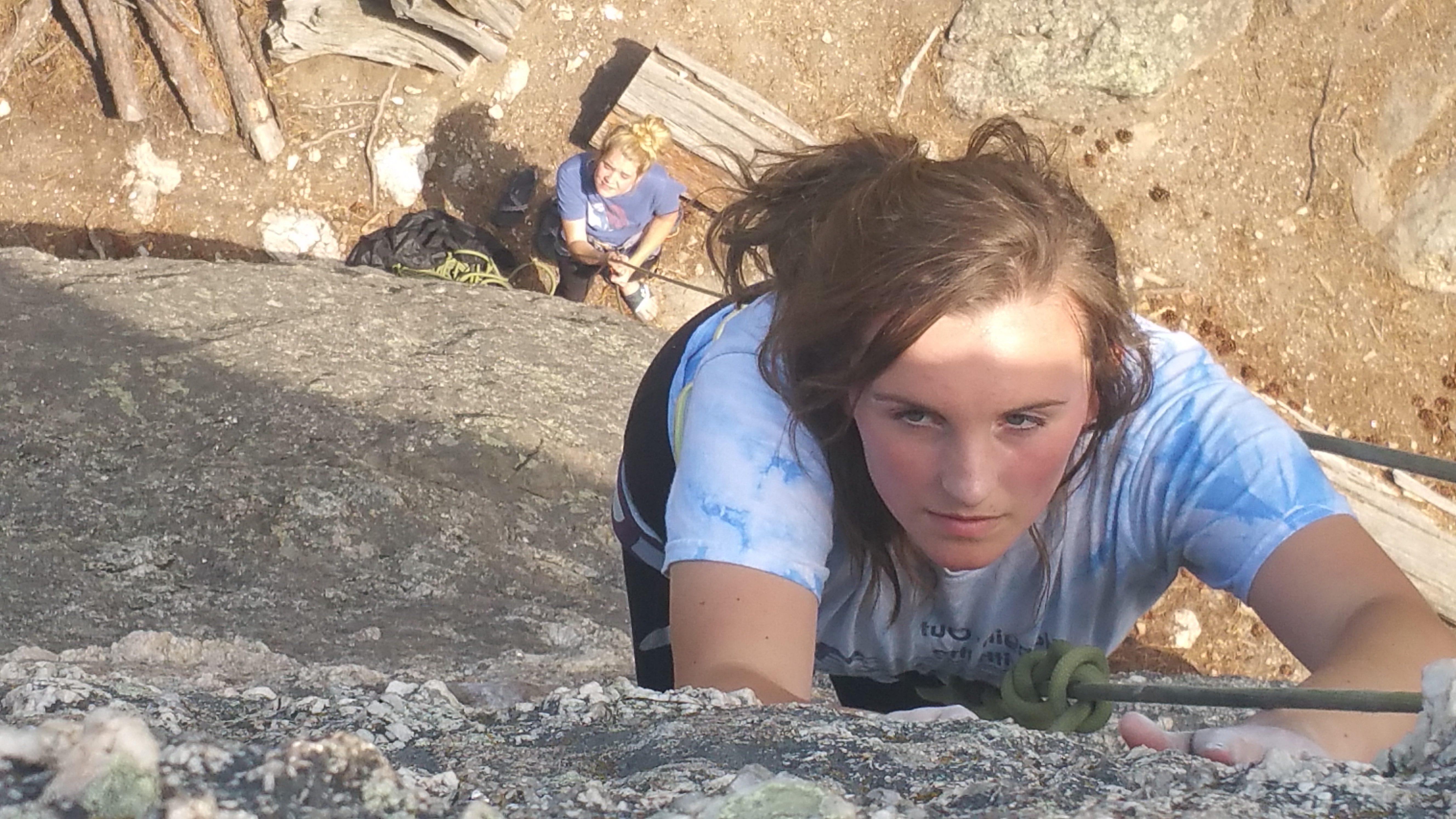 Rock Climbing in the Black Hills