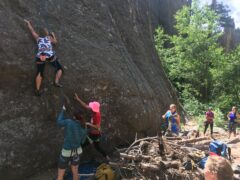 Chick Climber Rock Climbing Meetup