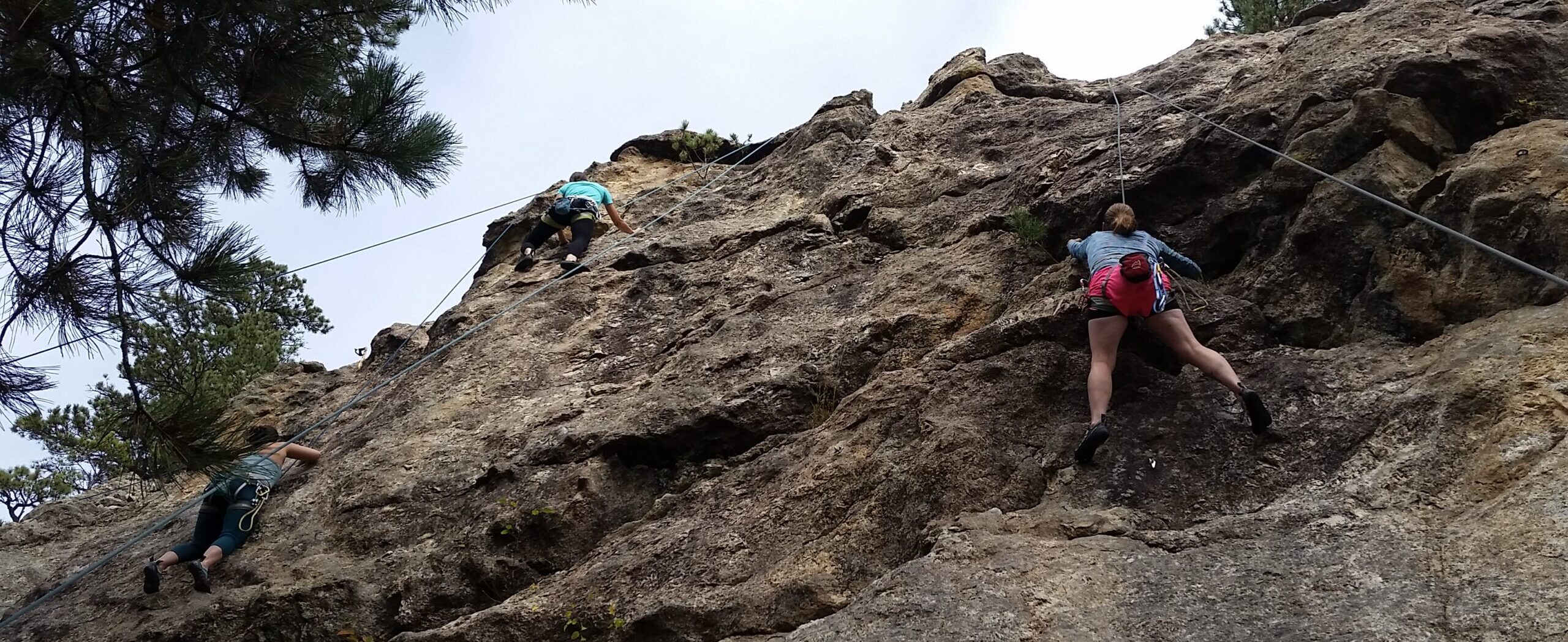 Rock Climbing, 1880 Wall