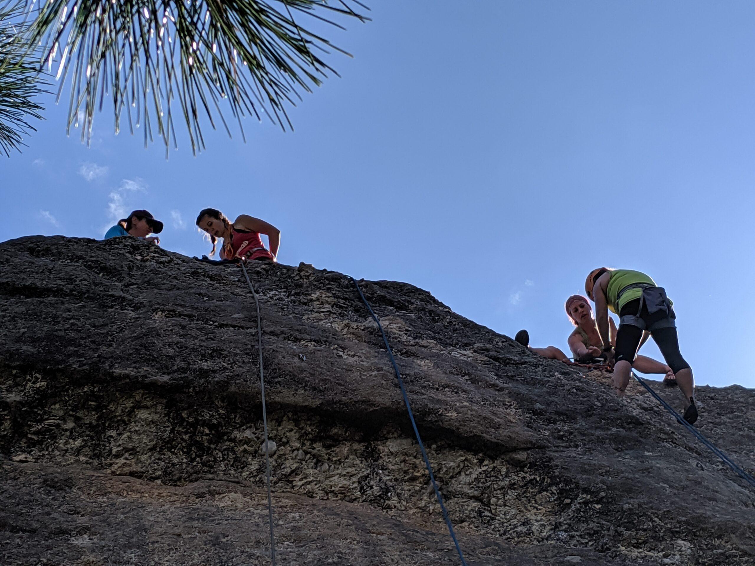 Black Hills Rock Climbing