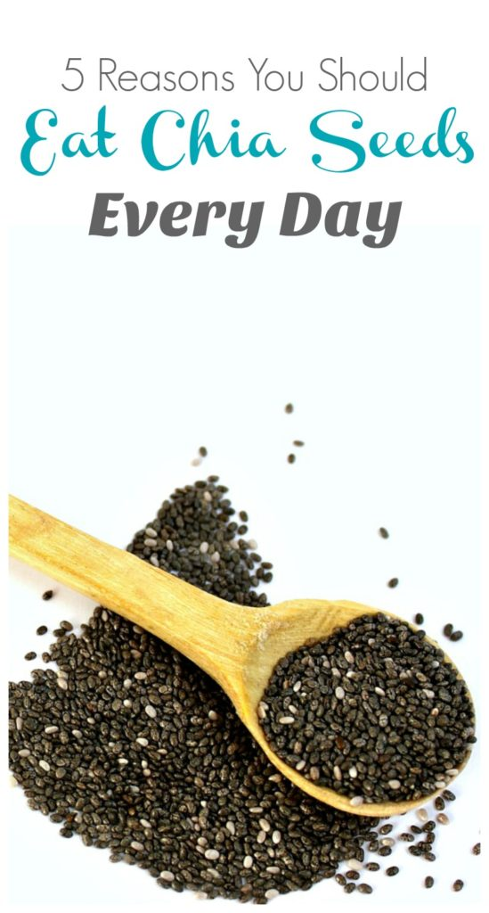 5 reasons you should eat chia seeds every day
