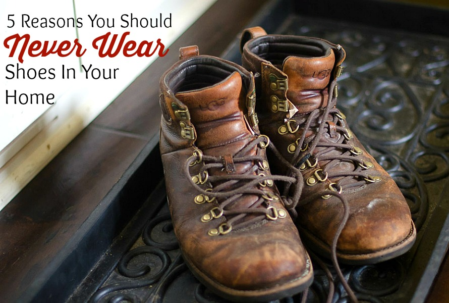 5 Reasons You Should Never Wear Shoes At Home