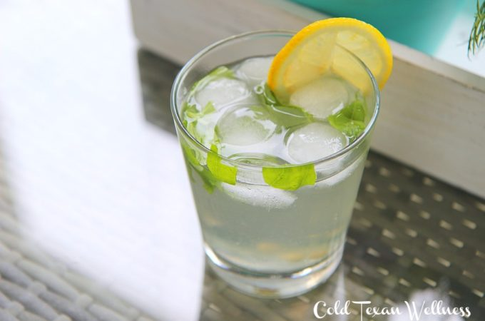 Basil Lemonade. The perfect twist on summer's best refreshing drink