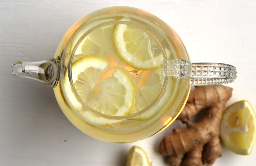 Fresh, healthy, and healing! This Homemade Lemon Ginger Tea recipe will warm you from the inside out while providing a wide range of health benefits!